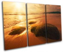 Beach Sunset Seascape - 13-1466(00B)-TR32-LO